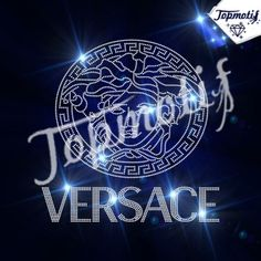 Bling Iron On Logo Versace Hot Fix Rhinestone Appliques Transfers For T-Shirt