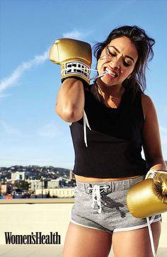 Gina Rodriguez Wants Women to Be Their Own Heroes #womenshealth