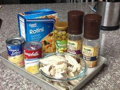 Thanksgiving Leftovers - Turkey Tetrazzini