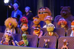 You may see more stars at but we guarantee more frogs, pigs, bears, and whatevers on Kermit, February 2016 Jim Henson, The Muppet Show Characters, Sesame Street Muppets, Super Images, Fraggle Rock, Miss Piggy, See Movie, Kermit The Frog, The Dark Crystal