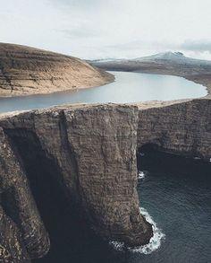 Sørvágsvatn, Faroe Islands  Photo by © @michielpieters  #OurPlanetDaily