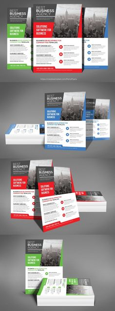Corporate Business Flyer Business flyers, Corporate business and - business pamphlet templates
