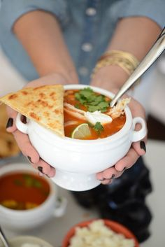 chicken tortilla soup bar
