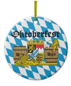 NadaMas Arte: Y el diseño Best Seller de 2013 es... ¡Oktoberfest... Plates, Christmas Ornaments, Holiday Decor, Tableware, Design, Home Decor, Personalized Mugs, Lion, Art