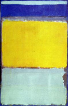 Rothko yellow