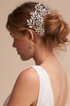 Silver Earnestine Headpiece | BHLDN