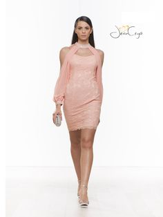 #Pink #tubino #minidress #cocktaildress #dress #party #elegance #fashion #springsummer2015 #specialoccasion #woman #look #outfit #style #moda #partydress #bridesmaid