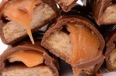 No-Bake Chocolate Recipe: Homemade Chocolate Caramel Twix Bars
