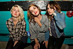 awesome girl musicians like Warpaint