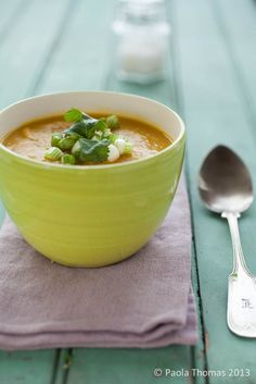 Pumpkin and Coconut Soup