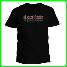 Idakoos El Presidente repeat retro - Drinks - T-Shirt - Retro shirts (*Amazon Partner-Link)