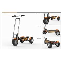 Skyer specializes in E-Mobility products, unique electric trasportation. E Mobility, 3rd Wheel, Big And Small, Baby Strollers, Wheels, Electric, Technology, Gallery, Design