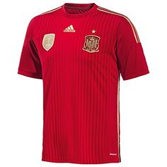 2014-15 Spain World Cup Home Shirt