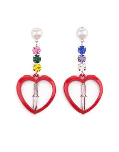 heart & dagger earrings (bimba & lola)