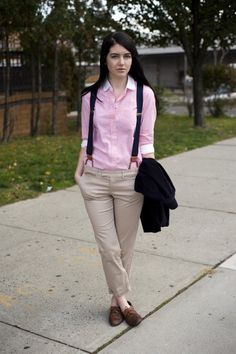 menswear inspired outfits for women (12)