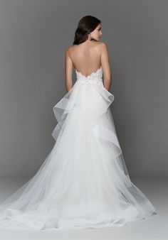 Designer: Tara Keely Style: 2701 Available at Bliss Bridal in WI blissbridalonline.com