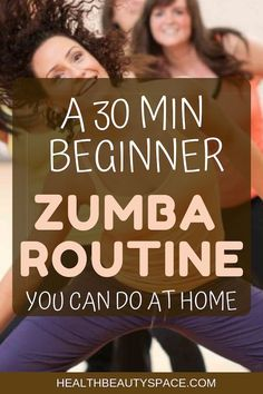 A 30 Min Beginner Zumba Routine You Can Do At Home - Zumba workout for beginners - Zumba Fitness, Fitness Senior, Physical Fitness, Health Fitness, Zumba For Beginners, Instructor De Zumba, Gym Workouts, At Home Workouts, Dance Workouts