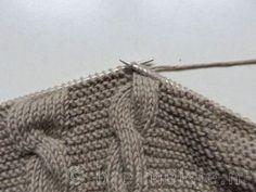 Patroon om een babyvestje te breien | Breimeisje.nl Cute Socks, Finger Weights, Triangle Shape, Cool Tools, Stitch Markers, Baby Knitting, Wool, Pattern, Baby Born