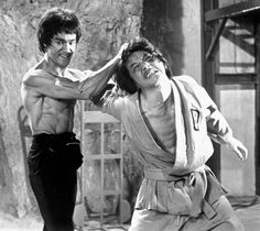 Other Fortune members appearing in Enter the Dragon include Lee's stunt double Yuen Wah, plus Jackie Chan, the only Hong Kong star other than Bruce Lee to become a global household name. Description from electric-shadows.com. I searched for this on bing.com/images