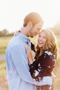 Knoxville Engagement Photographers, Park Engagement Photos, Sunset Photos, Knoxville Wedding Photographer | Erin Morrison Photography…