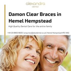 One of the many orthodontic braces that Alexandra Dental Practice offers is Damon clear braces in Hemel Hempstead. Damon clear braces have many advantages over the traditional braces to straighten teeth quickly and with minimal discomfort. Hemel Hempstead, Teeth Straightening, Orthodontics, Damon, Dental Care, Braces, How To Find Out, Minimal, Traditional
