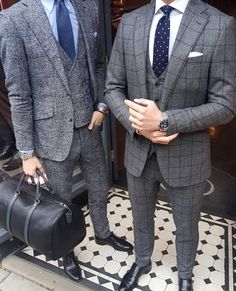 Fall/Winter suit options @oxfordtailors Left or Right ? @stylishmanmag @shopthatgrid @ootdchannel