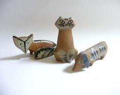 ceramic animals - Lisa Larson