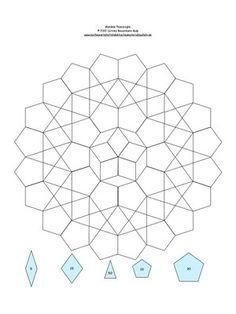 Mandala 3 mit EPP Schablonenzahl drin.