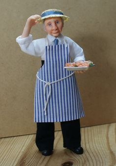 Patrick Hake the Fishmonger 1/12th one inch von JendlewickDolls