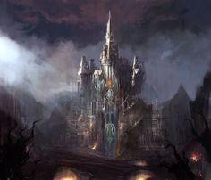 Crystal Castle. Art by Mio Del Rosario.