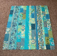 Cute idea for if you have scraps that are all one color scheme or could buy cute bits of fabric.