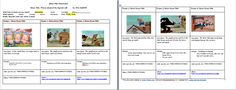 Storyboard about the 3 little pigs. As children already know the story, they can easily make their own different version, so later on we can make a video about it.