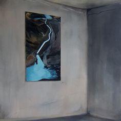 johnhainsworth:  Holocene Relic II  Oil on Canvas  101 x 101cm  2011