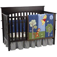 "Disney Winnie The Pooh Up and Away 4-Piece Crib Bedding Set - Crown Craft - Babies ""R"" Us"