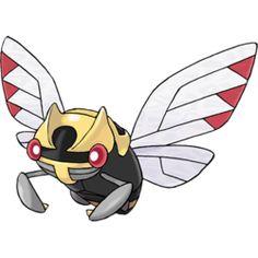 Ninjask - #291 - Bug and Flying Type