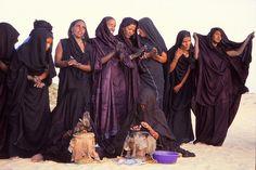 tuareg women #indigo #wrapdress #desert