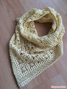 Crochet Knitting Artesanato: Xaile