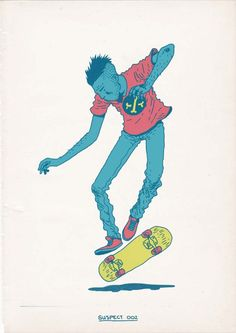 Skateboarding is a Crime por Gerhard Human | FuriaMag | Arts Magazine