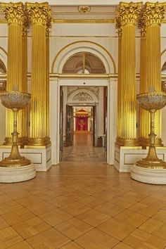 The Hermitage Museum, Saint Petersburg, Russia