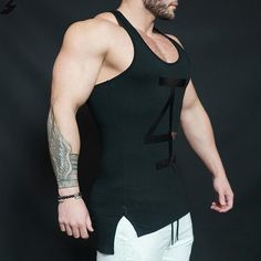 17c6def114cc21 Gym 4 Life Tank Top. Fitness ApparelMens FitnessFitness GearMilitary TankBodybuilding  ClothingWorkout ...