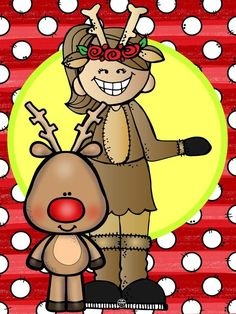 Christmas Clipart, Christmas Art, Christmas Cookies, Disney Drawings, Cartoon Drawings, Child Doll, Reno, Portfolio, Doodles