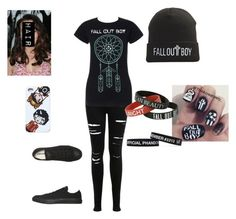 """for ana"" by destoneyp ❤ liked on Polyvore featuring Miss Selfridge and Converse"
