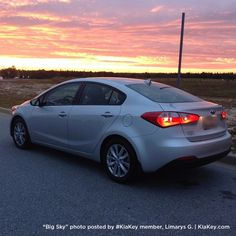 You've done it again, Limarys G.! Your Kia Forte looks great! Share your Kia photos on #KiaKey: http://kiakey.com/activities/big-sky?utm_source=Forte%20Big%20Sky%20Activity%20October&utm_medium=KMA%20Pinterest&utm_term=Tell%20Friends%20to%20Share%20Adventures&utm_content=Forte%20Big%20Sky&utm_campaign=socialmedia