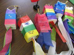 Lesson Plan SOS: Cinco de Mayo Fiesta!  & Milk Carton Pinatas