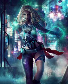 Coolest Cyberpunk Girls to Inspire YOU. Arte Cyberpunk, Cyberpunk 2077, Cyberpunk Girl, Cyberpunk Aesthetic, Cyberpunk Fashion, Blade Runner, Character Inspiration, Character Art, Sci Fi Characters