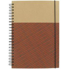 tribal A4 wiro kraft subject notebook