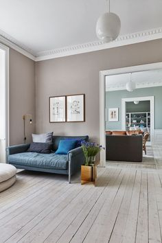 A master apartment on Østerbro created for a new family life # interior living room BOB ., A master apartment on Østerbro created for a new family life # interior living room My Living Room, Living Room Interior, Living Room Decor, Living Spaces, Living Room Inspiration, Interior Inspiration, Home Design, Home Interior Design, Design Ideas