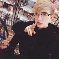 """2,218 Likes, 13 Comments - ☆ kylar ☆ (@princekylar) on Instagram: """"☆ when ur at the grocery store but u gotta be a model too ☆"""