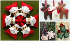 DIY Felt Christmas Ornament Pattern and Template