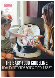 The Baby Food Guide? Saving for later! # food guide for babies Baby Food Guide, Baby Food Recipes, Modern Day Hippie, Introducing Solids, Pregnancy Signs, Homemade Baby Foods, Everything Baby, Baby Play, Everyday Food
